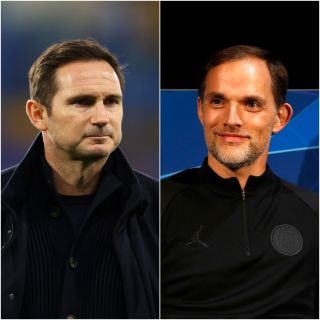 Thomas Tuchel (right) is set to replace Frank Lampard as Chelsea boss