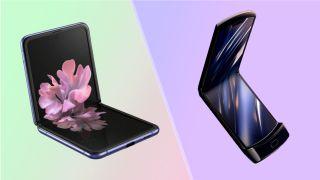 Motorola Razr vs Galaxy Z Flip
