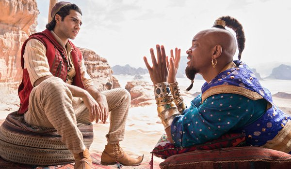 Genie's Top Knot in Aladdin 2019