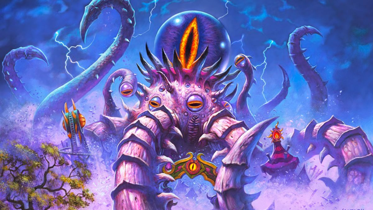 I'm gutted that C'Thun, the Shattered is the weakest of Hearthstone's Old Gods