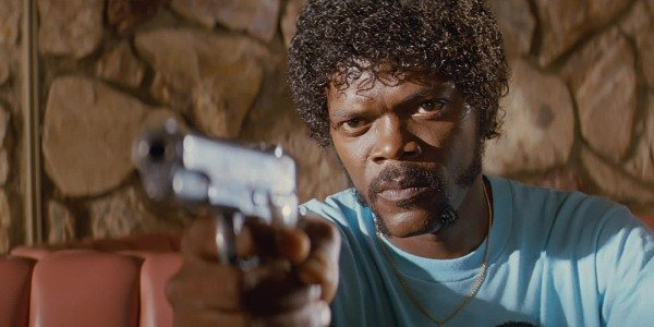 Samuel L. Jackson is Jules Winnfield in Pulp Fiction