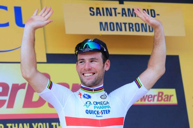 Mark Cavendish wins stage, Tour de France 2013, stage 13
