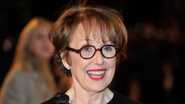 Una Stubbs on the red carpet