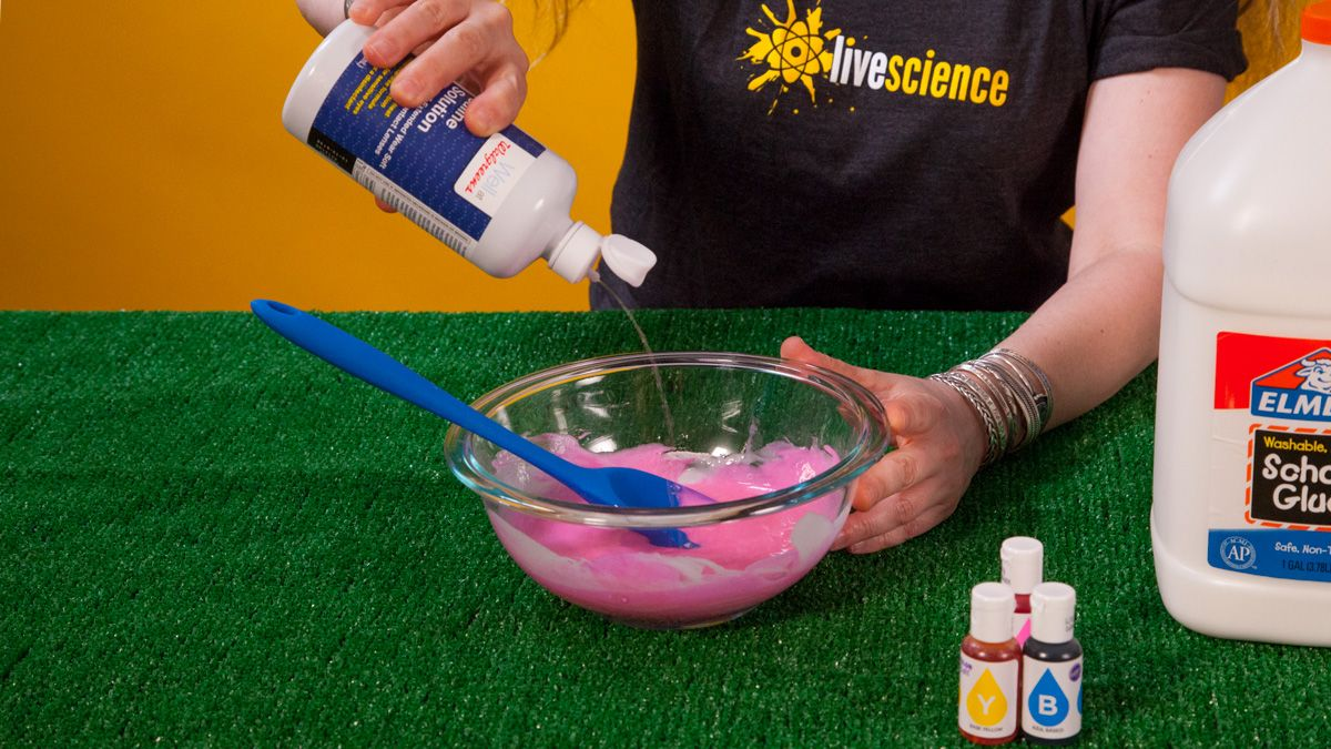 Goopy Science: How to Make Slime with Glue | Live Science