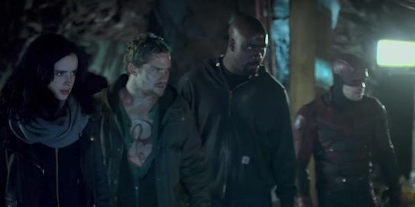 The Defenders underground