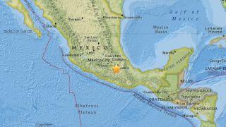 A 7.1-magnitue earthquake struck near Mexico City on Sept. 19, 2017.