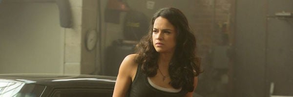Michelle Rodriguez in The Fate of the Furious