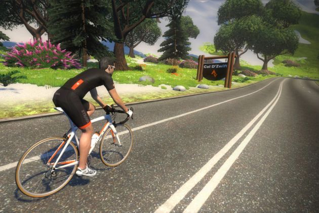 zwift turbo trainer game