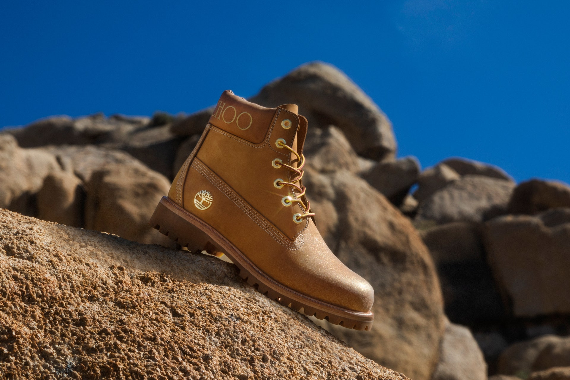 jimmy choo and timberland collection