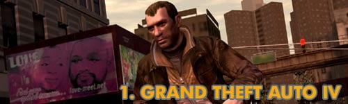 1. Grand Theft Auto IV
