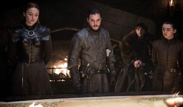 Game of Thrones Sansa Stark Sophie Turner Jon Snow Kit Harington Arya Stark Maisie Williams HBO