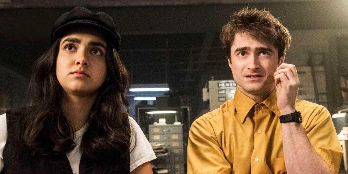 Daniel Radcliffe in Miracle Workers.