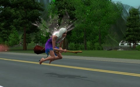 The Sims 3 Supernatural Review Witches Fairies