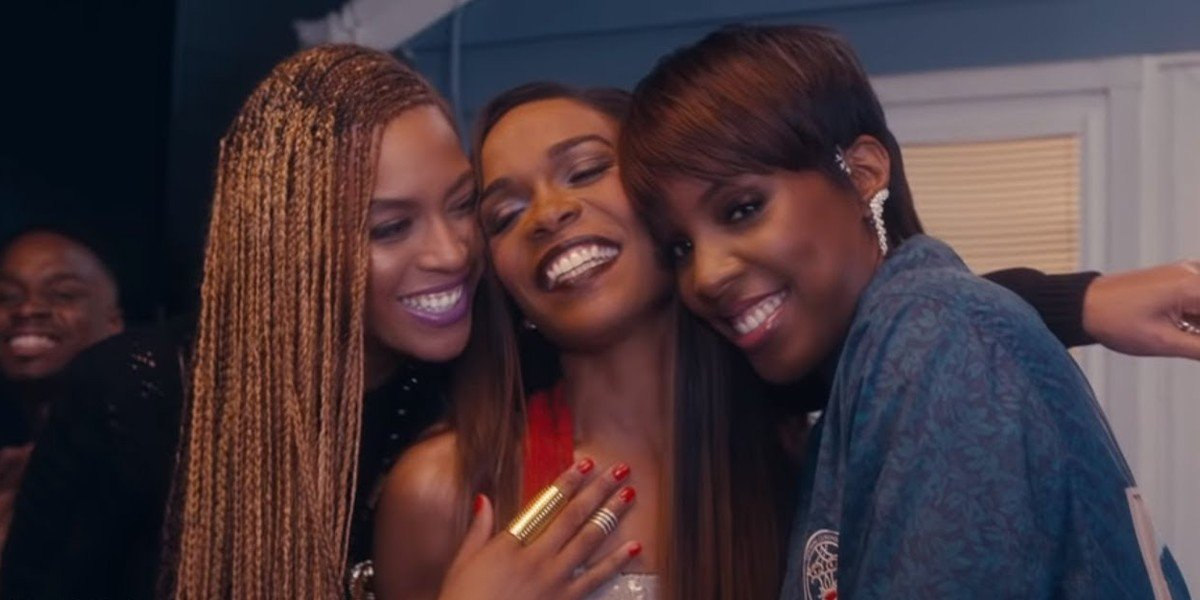 "Beyonce Knowles, Michelle Williams, Kelly Rowland - ""Say Yes"" Music Video"