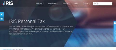 IRIS Personal Tax