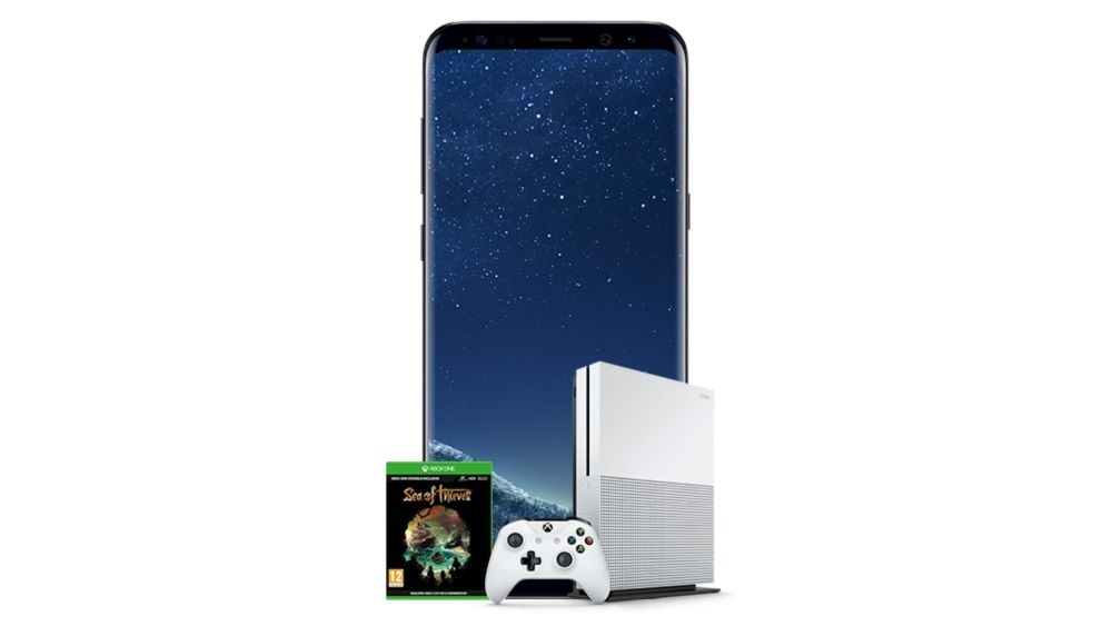 Get a free Xbox One S Sea of Thieves bundle now with Samsung Galaxy S8 or A8 deals