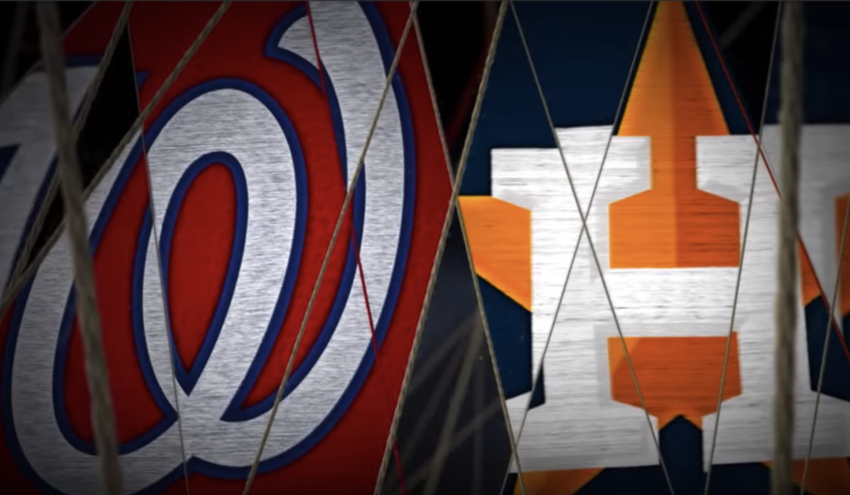 world series 2019 logo washington nationals houston astros screenshot