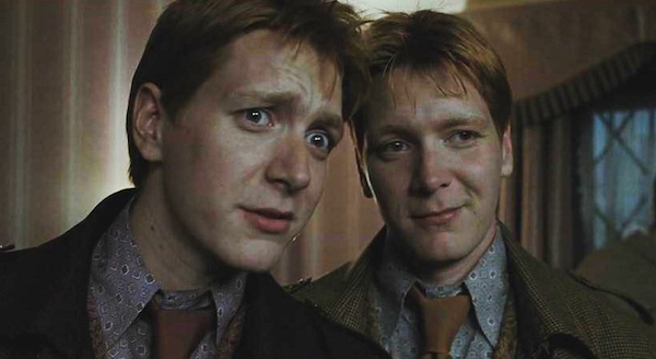 Dating fred and george weasley