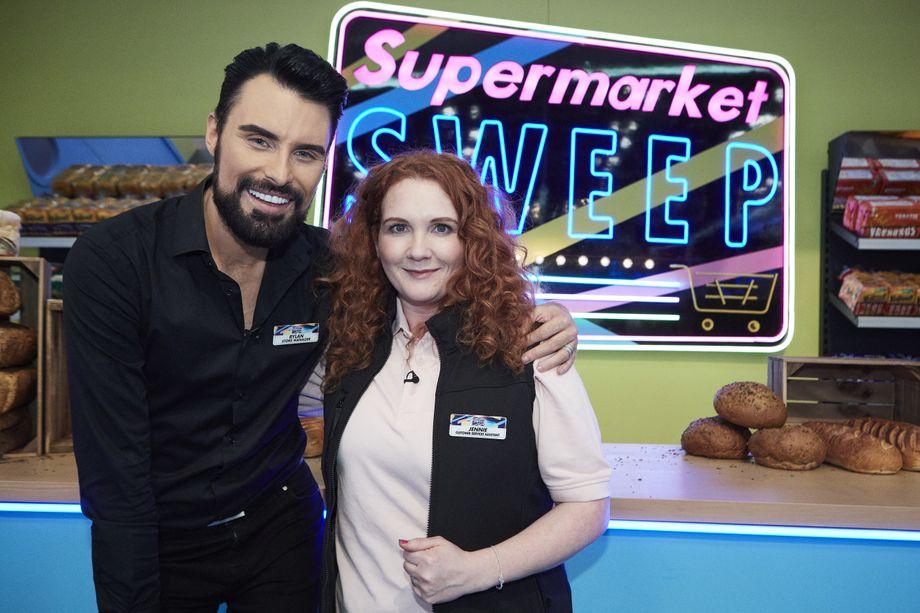 Supermarket Sweep, Rylan Clark-Neal, Jennie McAlpine
