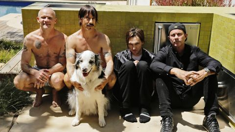 Red Hot Chili Peppers band photograph