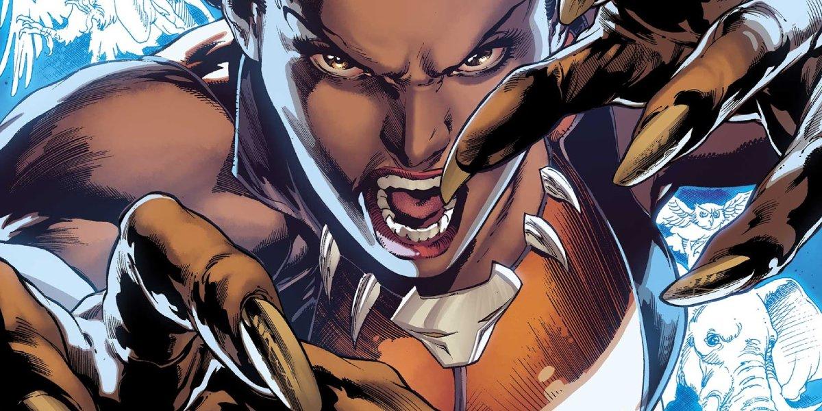 DC's model turned enchanted hero Vixen