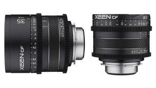 Xeen CF 35mm T1.5 and Xeen CF 16mm T2.6