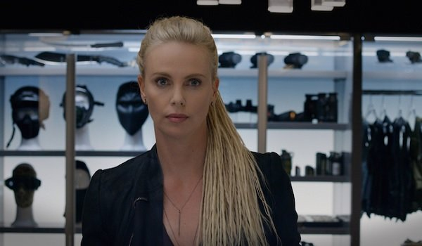 The Fate of the Furious Charlize Theron Evil Stare
