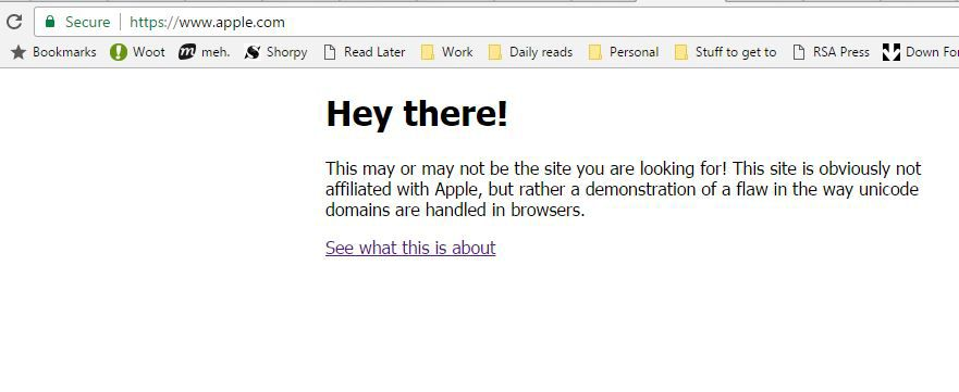 Comrade! Russian URL Leads to Fake Apple Site | Tom's Guide