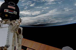 Astronauts' View of Total Solar Eclipse of Aug. 21, 2017
