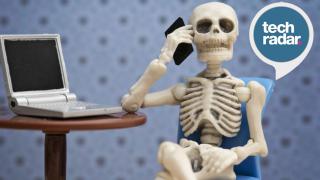 Skeleton using computer
