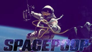 Space Poop Challenge poster