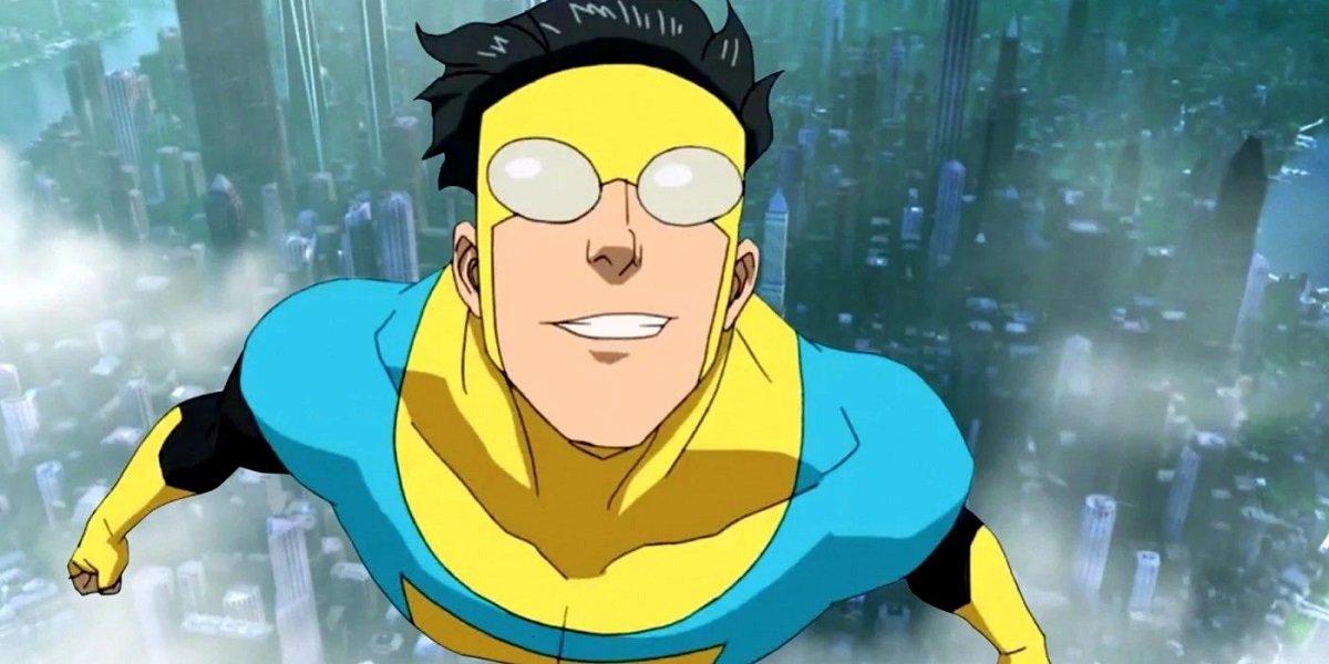 Mark Grayson in Invincible on Amazon Prime.