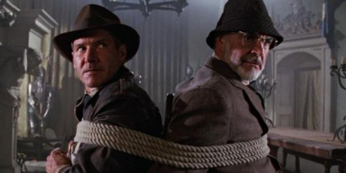 Harrison Ford Sean Connery Indiana Jones