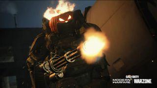 pumpkin head warzone modern warfare