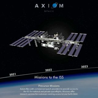 Michael Lopez-Alegria is assigned to command AX-1 in 2021, the first in a series of commercial missions to the International Space Station that will serve as a precursor to Axiom Space attaching its own modules to the orbital complex.