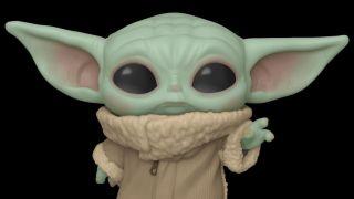 Baby yoda kuscheltier
