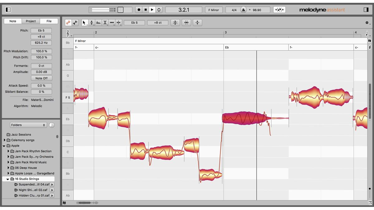 """Melodyne 5 promises to give you """"musically perfect"""" vocals and can make any audio fit the chords in your song"""