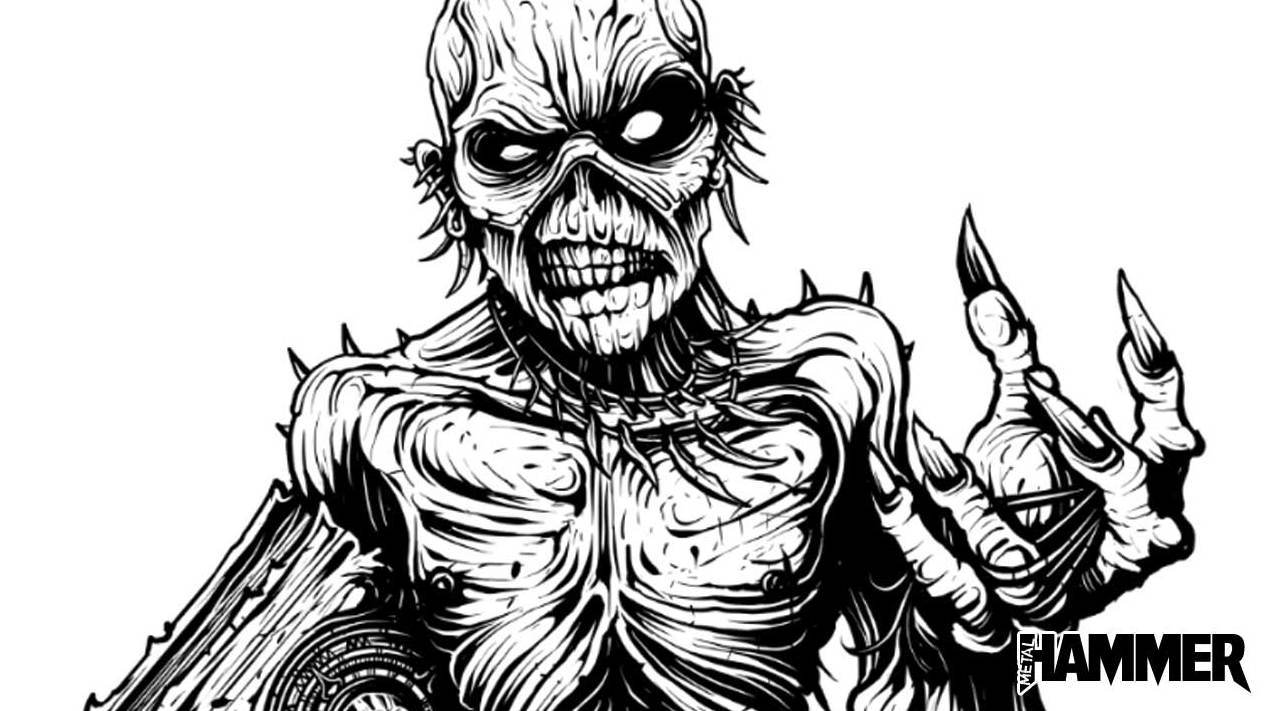 How Dan Mumford created the Iron Maiden Metal Hammer cover | Louder