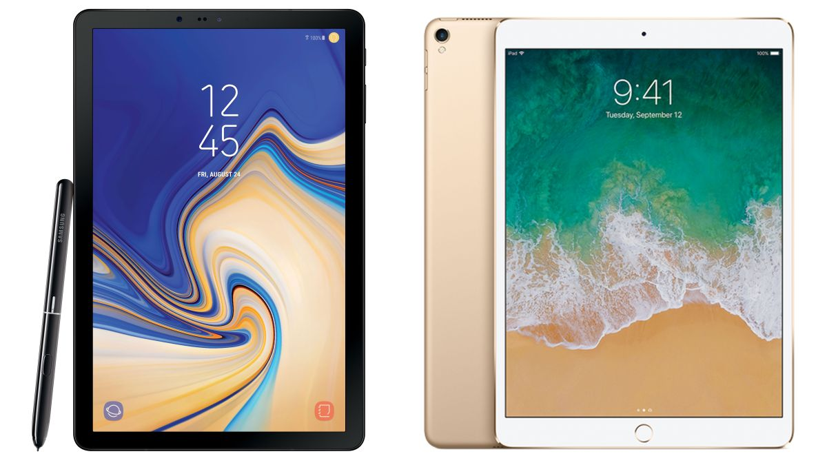 Kết quả hình ảnh cho Samsung Galaxy Tab S4 vs iPad Pro: Which should you pick?