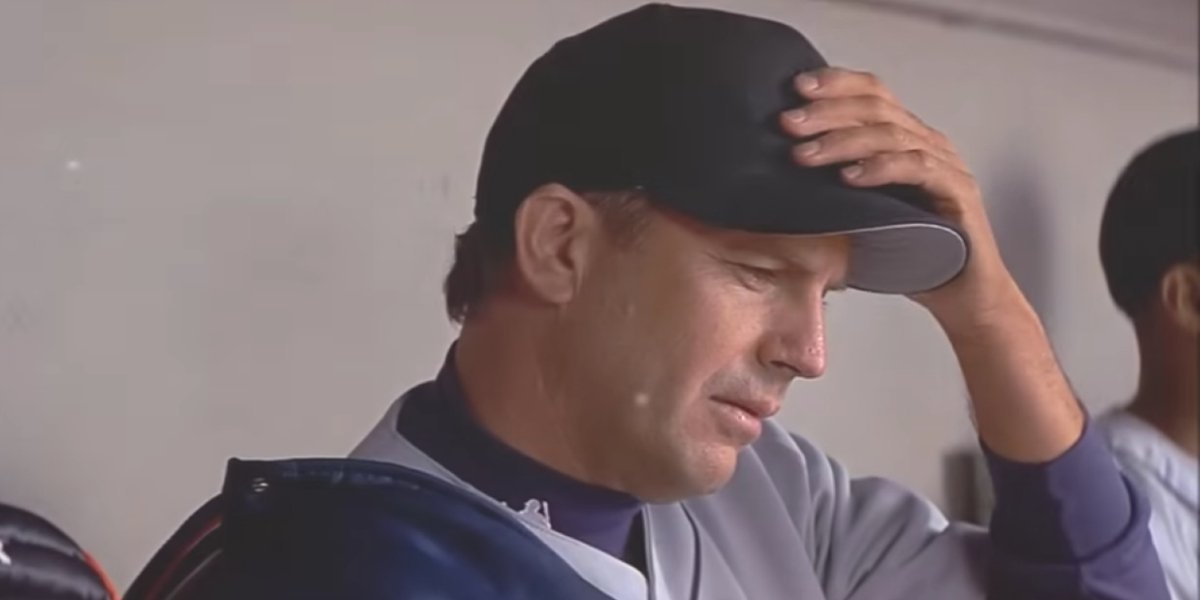 Kevin Costner in For Love Of The Game