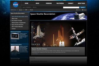NASA's Space Shuttle Recordation Website
