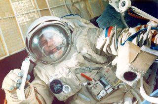 Cosmonaut Alexander Serebrov