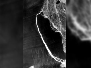 A sensor on the Landsat-8 satellite captured this composite thermal-infrared image of the A-68 iceberg (from images snapped on July 14 and July 21, 2017), shortly after it broke free of the ice shelf.