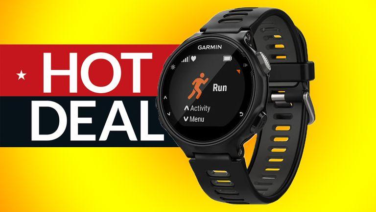 cheap Garmin Forerunner 735XT deal fitbit rival running watch deal