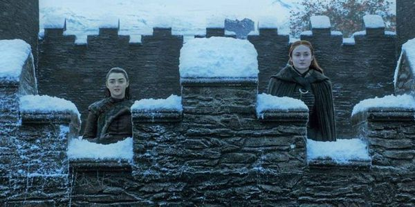 game of thrones winterfell arya sansa