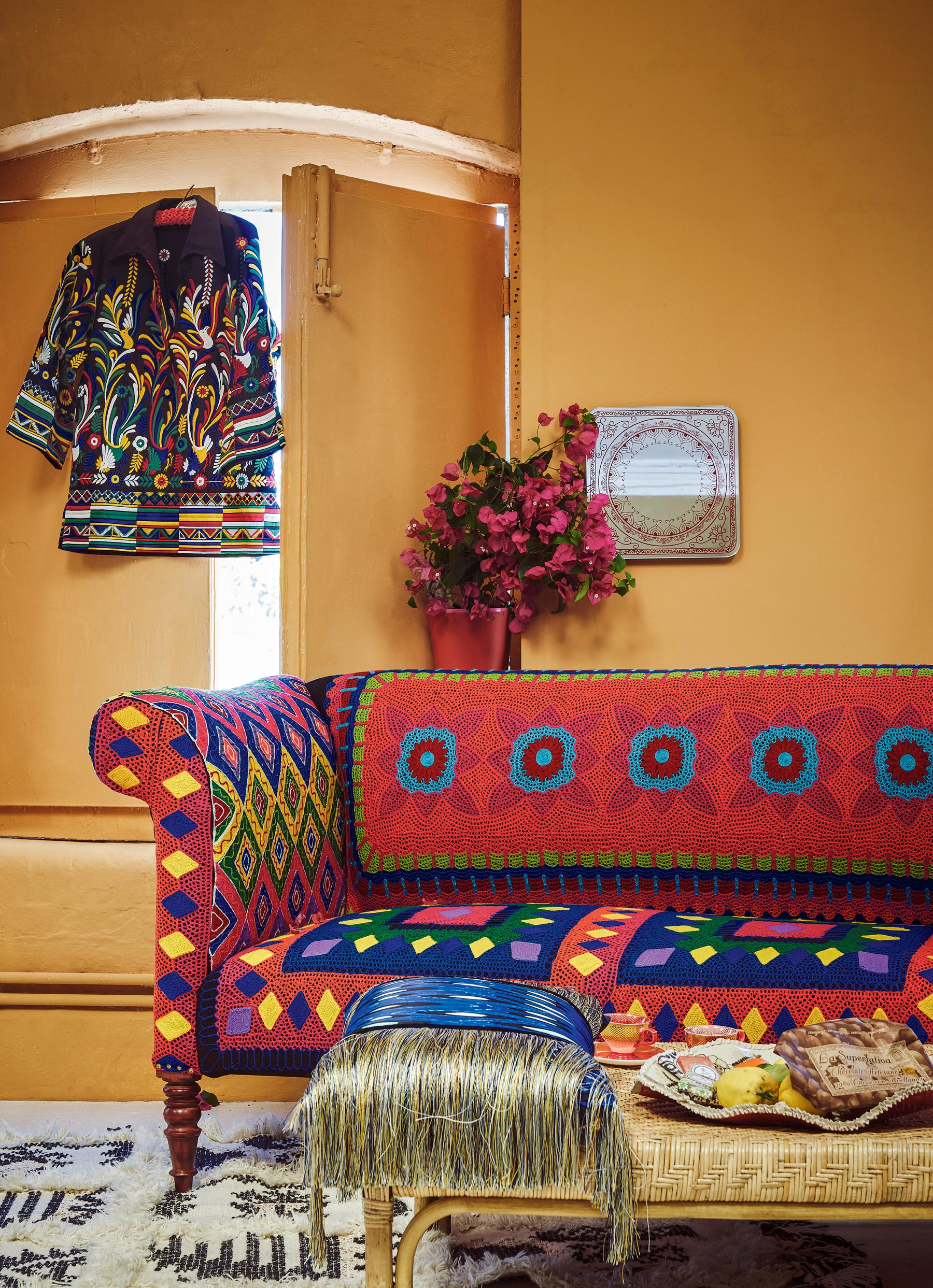 Terrific Interior Trend Frida Kahlo Style Viva La Frida Mexican Ocoug Best Dining Table And Chair Ideas Images Ocougorg