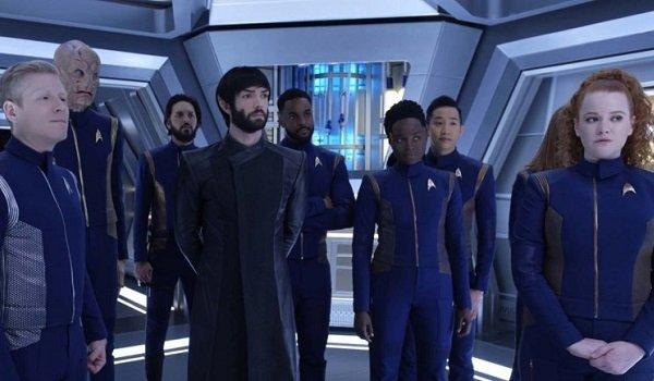 Star Trek: Discovery spock crew cbs all access