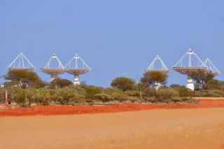CSIRO's ASKAP antennas