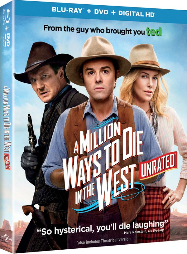 Million ways to die in the West box