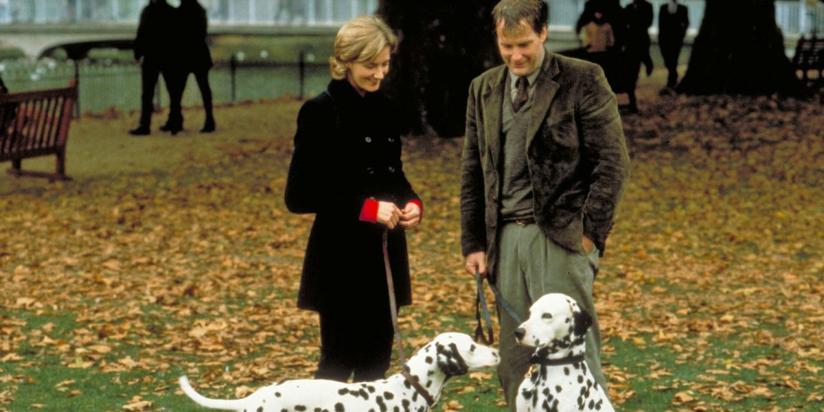 Joely Richardson and Jeff Daniels in 101 Dalmatians